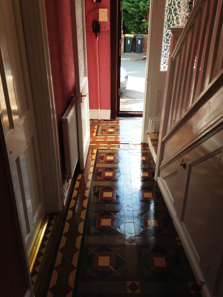 Victorian Floor Forest of Dean After