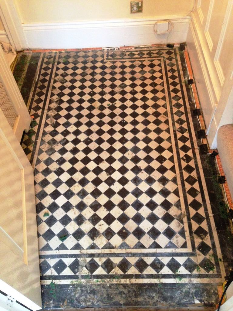 Victorian Floor Before Renovation in Monmouth