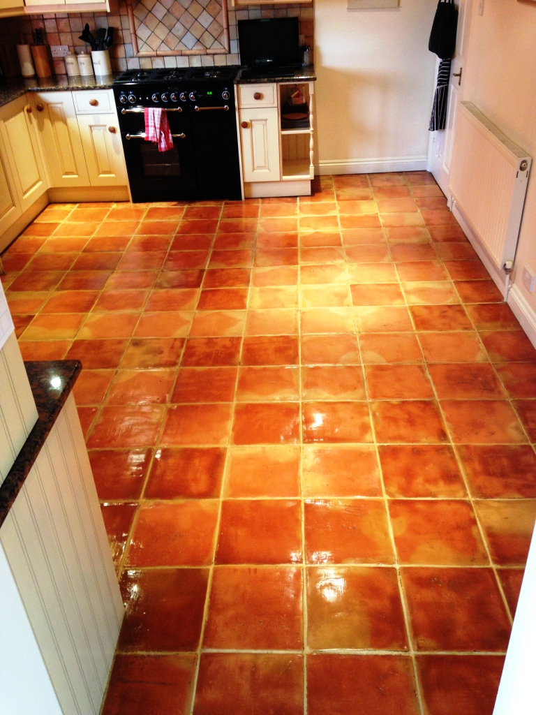 Terracotta Kitchen Floor Forest of Dean After