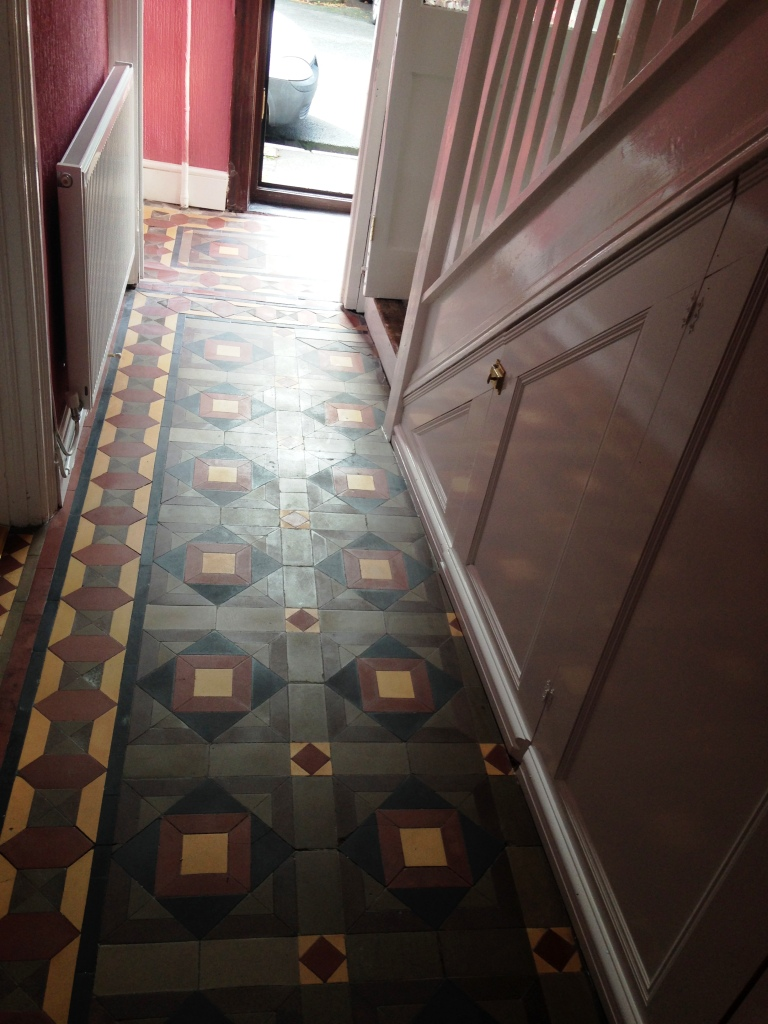 Victorian Floor Forest of Dean Before