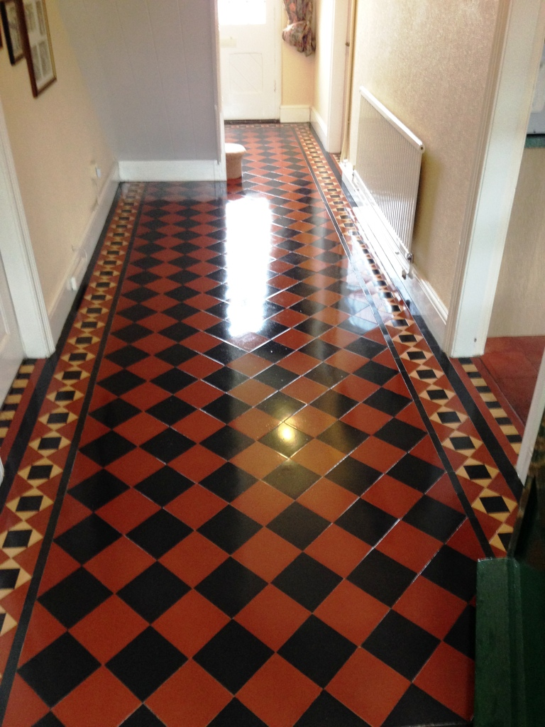 Victorian Hallway Floor Newport After