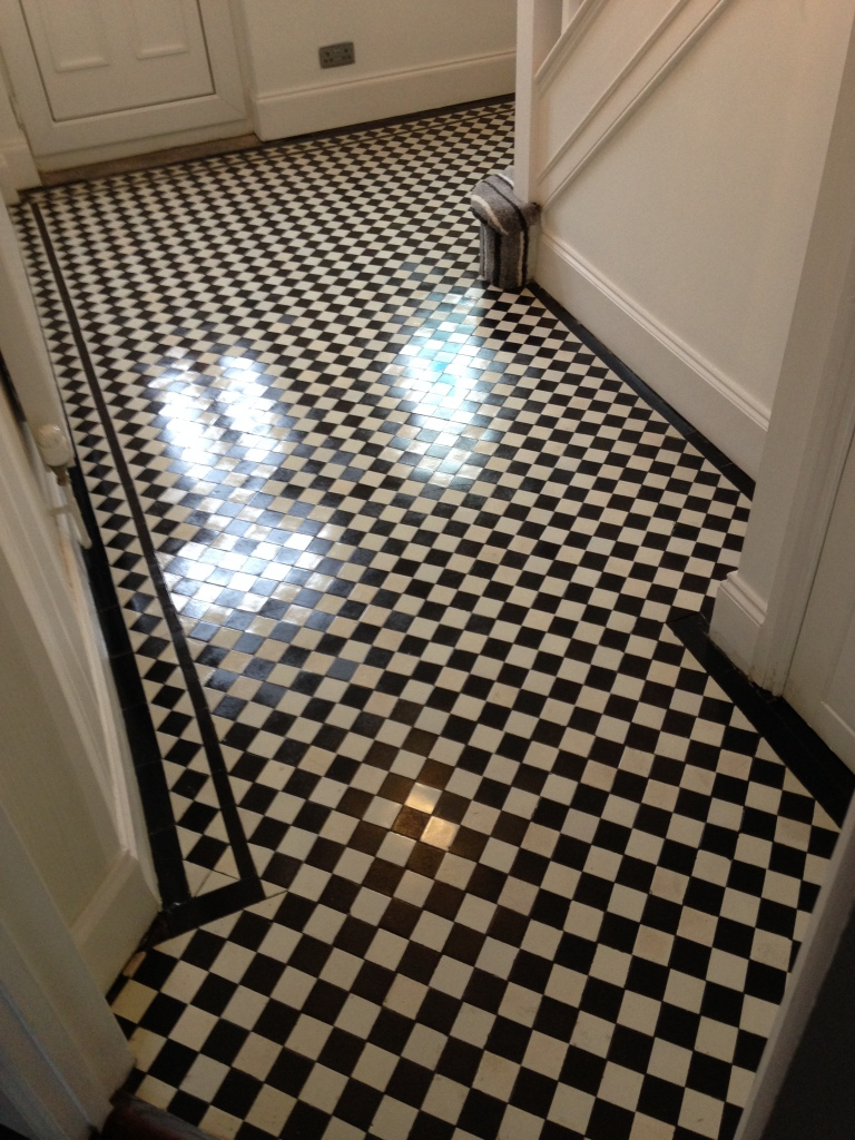 Victorian floor after cleaning Newport