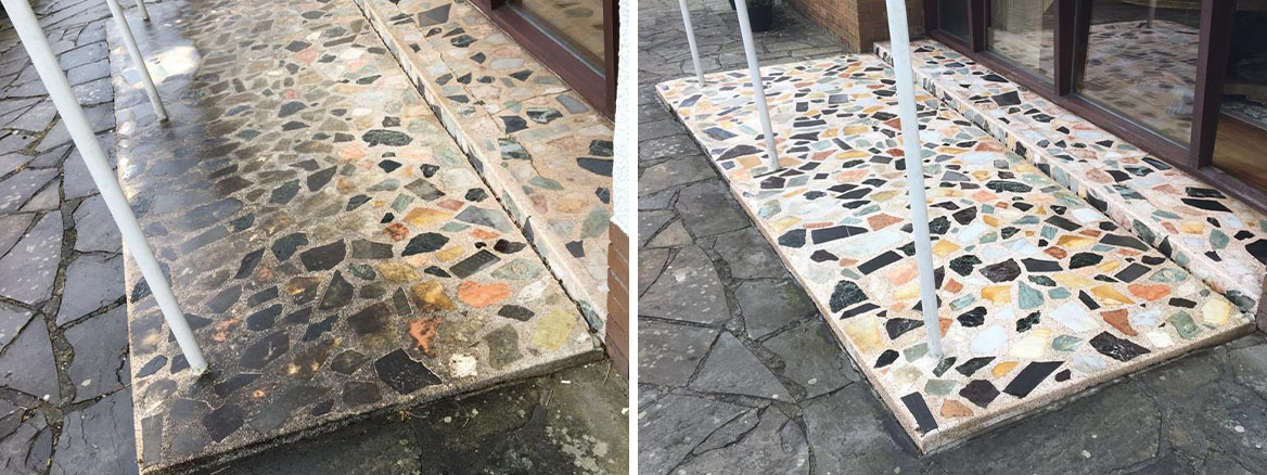 Terrazzo-Porch-Entrance-Before-After-Cleaning
